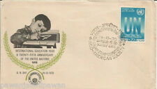 INDIA - SPECIAL COVER - UN DAY - INTERNATIONAL EDUCATION YEAR 1970