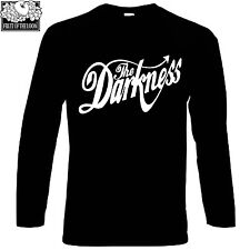 The Darkness LOGO FRUIT OF THE LOOM BLACK T-SHIR S-XXL long sleeve