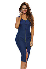Boldgal Playsuit Romper One-Piece Women's Denim Cocktail Party Jumpsuit