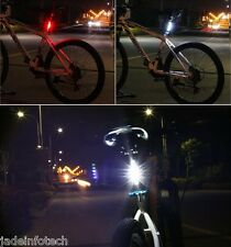 Bicycle LED Light USB Rechargeable 4 Flash Modes Water Resistant Tail Light