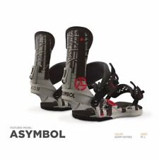 UNION UCH ASYMBOL ADAM HAYNES ATTACCHI FW 2017 M L NEW BINDINGS SNOWBOARD