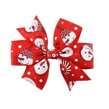 baby bow hair clip Christmas Accessories Girls Hairpin barrette bands