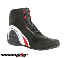 Scarpa Dainese Motorshoe Air Shoes Black/White/Red