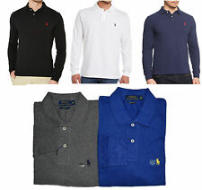 CUSTOM FIT LONG SLEEVE RALPH LAUREN POLO T SHIRT FOR MEN