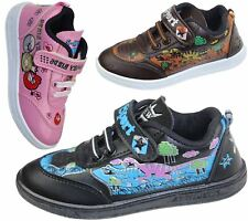 BOYS GIRLS KIDS TRAINERS INFANTS PLIMSOLES PUMPS TODDLER WALKING UNISEX SHOES