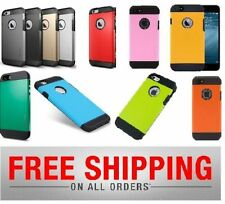 Slim with Armor Hybrid Hard Tough Case Cover for Apple iPhone 5, 5S, 5G