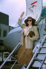 """JOAN COLLINS -  Selection of AIRPORT SHOTS 1980's & 1990's 12"""" x 8""""  Photo(s)"""