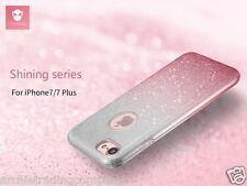 FSHANG Shining Glitter 3-Layer Protection TPU+PC Soft Case For iPhone 7 7S Plus