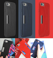 ROCK Cana Series Shockproof Wallet Back Cover Case For Apple iPhone 7