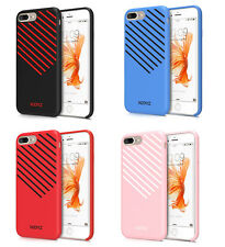 Xoomz Twill Silicone Gel Back Cover Protective Case For Apple iPhone 7 & 7 Plus