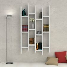 MENSOLA LIBRERIA DESIGN ASHLEY IN LEGNO 2-4 CM, ARREDO CASA, IN 10 FINITURE