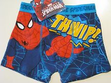 Boys Marvel Comics Spiderman boxer pants shorts ages 7-8, 9-10, 11-12 & 13 BNWT