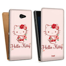 Sony Xperia Modelle - Tasche Hülle - Hello Kitty - Roses