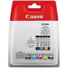 ORIGINAL CANON pgi-570/cli-571 5 Color Cartucho de tinta multipack (0372c004)