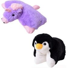 PELUCHE CUSCINO 2 in1 Animale Peluche Cuscino motivo unicorno Pinguino