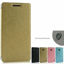 Heartly Premium PU Leather Flip Stand Hard Back Case Cover - Nokia Lumia 930 929