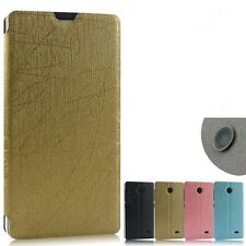 Heartly Premium PU Leather Stand Flip Back Case Cover Nokia X X+ Plus Android