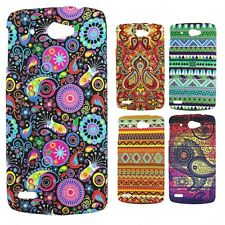 Heartly Aztec Print Tribal Style Thin Hard Back Case Cover Lenovo S920 Dual Sim