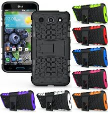 Heartly Flip Kick Stand Hard Dual Armor Bumper Case Cover LG Optimus G Pro E988