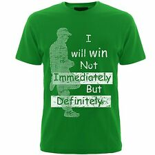 Slogan tshirts   ( I will win ) tshirts,mens
