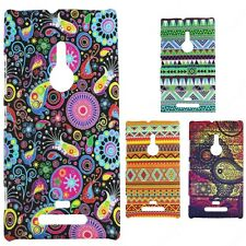 Heartly Aztec Print Tribal Matte Style Thin Hard Back Case Cover Nokia Lumia 925