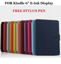 "Slim Magnetic Flip Cover Case for Amazon New Kindle 6"" E Ink Display Tab Reader"