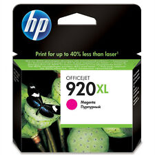 Original Oem HP Officejet ALTA CAPACIDAD MAGENTA CARTUCHO DE TINTA 920xl