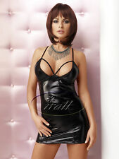 SeXy Mini Wet-Look Kleid FeTisch Gothic DoMina WeTlook Minikleid Gogo Club S-XL