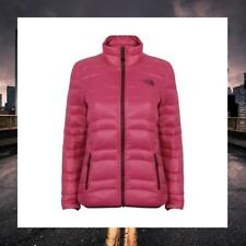 THE NORTH FACE WOMENS QUILTED GOOSE DOWN PINK COAT JACKET MANCHURIA CZ34146