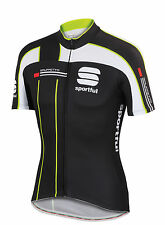 Sportful Gruppetto Pro Race Cycling Jersey 2015 - Black/White/Fluoro