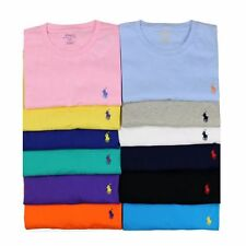 RALPH LAUREN MEN'S CREW NECK T SHIRTS - CLASSIC FIT/ LOOSE FIT [BNWT]