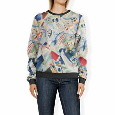Kandinsky Abstract Art Painting Sweatshirt Sweater XS-3XL