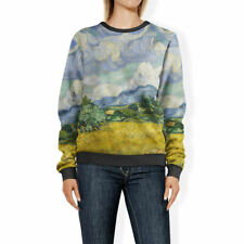 Vincent Van Gogh Fine Art Painting Womens Sweatshirt Sweater XS-3XL