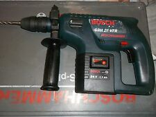 Hammer drill BOSCH GBH 24 VFR 24V  SDS professional with battery and case