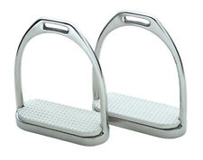 Shires Wessex Stirrup Irons Stainless Steel with Treads ALL SIZES