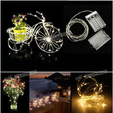 2-4M LED Micro Wire String Fairy Party Wedding Christmas Wedding Light Decor UK