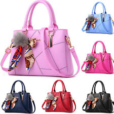 Women Faux Leather Handbag Lady Girls Shoulder Bag Tote Messenger Satchel Purse