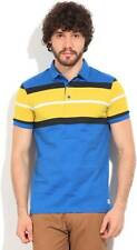 United Colors of Benetton Striped Mens Polo Neck T-Shirt (Flat 60% OFF) -9AE