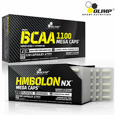 BCAA + HMBolon 60-180Caps. Branched Chain Amino Acids HMB Tri-Creatine Malate