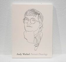 Andy Warhol: Portrait Drawings, 1988. Softcover, Illustrated,Exhibition Catalog