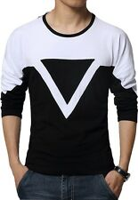 T shirts Fashionable Designer tshirts -Shape CS Mens ( Black-White )