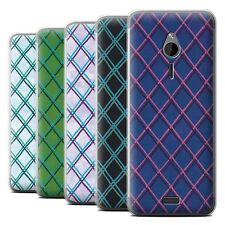 STUFF4 Phone Case/Back Cover for Nokia 230 /Criss Cross Pattern