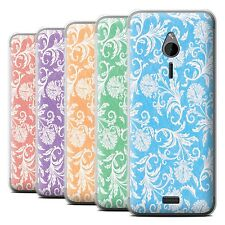 STUFF4 Phone Case/Back Cover for Nokia 230 /Floral Pattern