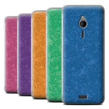 STUFF4 Phone Case/Back Cover for Nokia 230 /Swirl Leaf Pattern