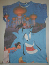 PRIMARK LADIES DISNEY ALADDIN & GENIE T SHIRT TEE TOP UK 6 - 14