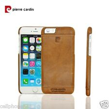 Genuine Leather Hand Crafted Premium Cover For Apple Iphone 6 From Piere Cardin