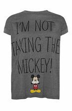 PRIMARK LADIES DISNEY I'M NOT TAKING THE MICKEY MOUSE T SHIRT TEE TOP  6