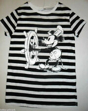 PRIMARK LADIES MICKEY MOUSE STEAMBOAT WILLIE T SHIRT TEE TOP 6