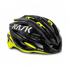 Kask Vertigo 2 Helmet Bicycle Helmet 24 Air Vents In Mould Black/Yellow Fluo