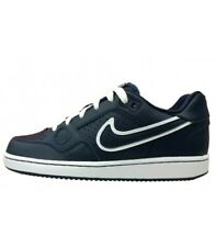 Nike Son Of Force Gs Sneakers Basse Modello Air Force Pelle Uomo Donna Blu